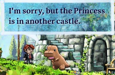 ¿Dónde está la Princesa?
