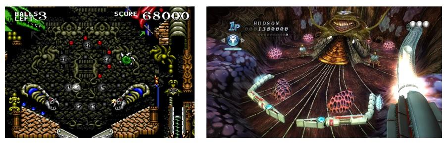 Dragon's Revenge y Alien Crush Retuns: Pasado y presente de los videopinballs