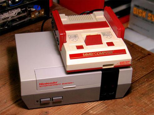 Comparativa NES / Famicom