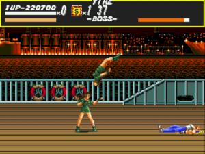 Los clones de Blaze son jodidos. Son la antesala del combate final con Mr. X, y sin la ayuda del SWAT pierdes vidas a cascoporro.