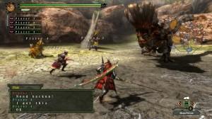 La caza acompañado es una experiencia más completa. (Captura WiiU)