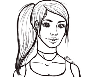 tomb_raider_lara_croft_quick_line_art_by_mzskittlez32-d4t3bq4