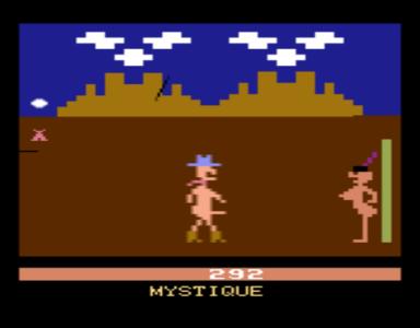 Mystique y sus juegos eróticos, ay!