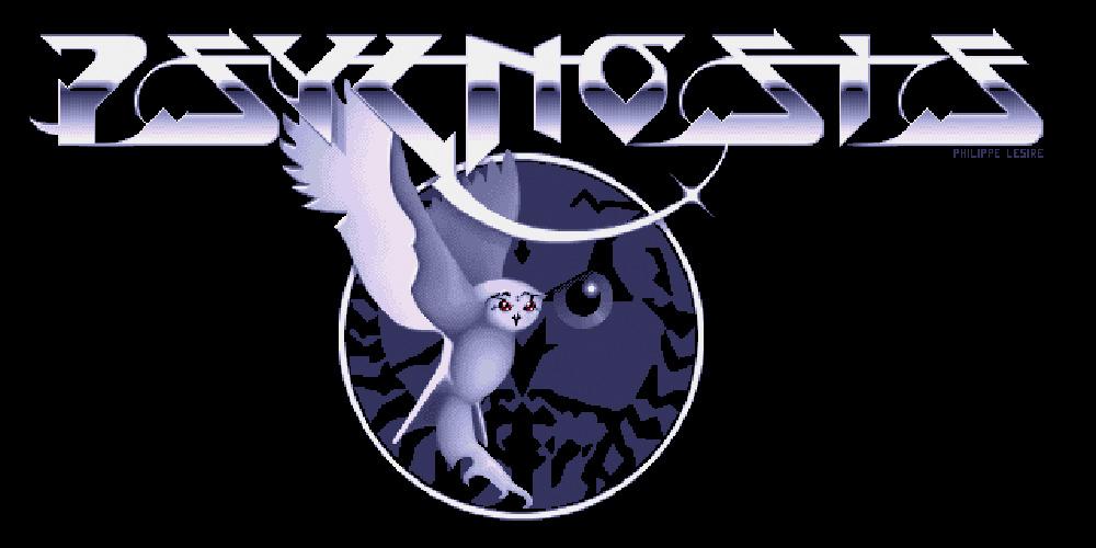 El clásico logo de Psygnosis diseñado por Roger Dean