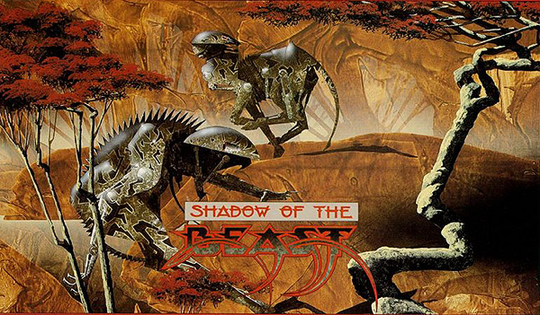 Artwork de Shadow of the Beast