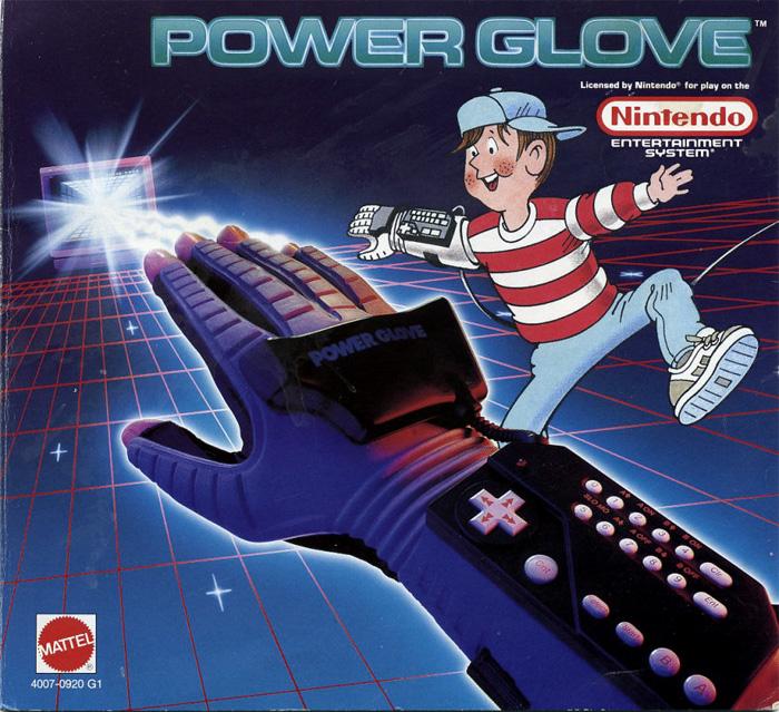 El Power Glove también era de Mattel. It was SO BAD.