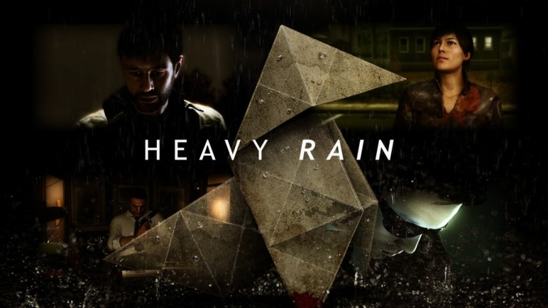 heavy rain collage