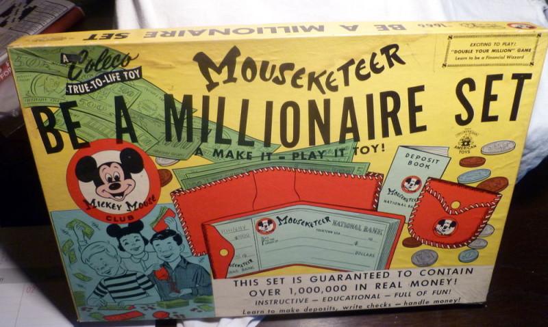 Be a millionaire set.