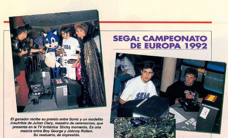 Sega: Campeonato de Europa 1992, en el número 5 de SuperJuegos.