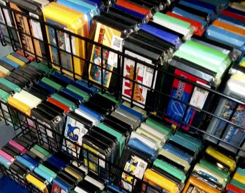 Cartuchos de Famicom en Mandarake Galaxy