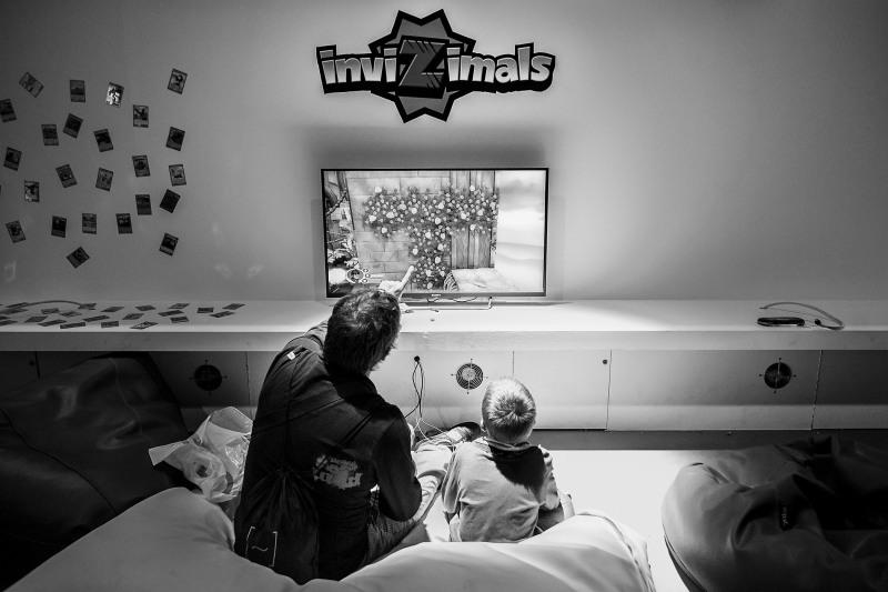 Los juegos infantiles no abundaban, aunque InviZimals fue una excepción.