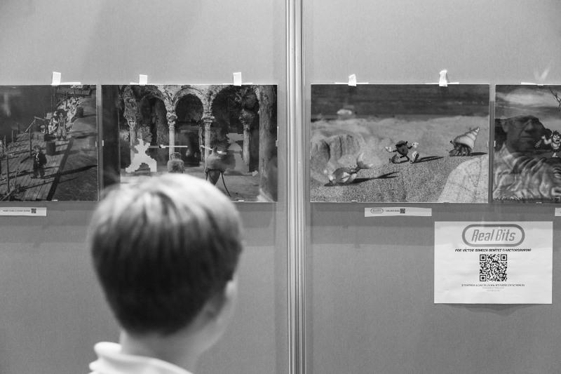Exposiciones como la de Real Bits de Víctor Somoza.