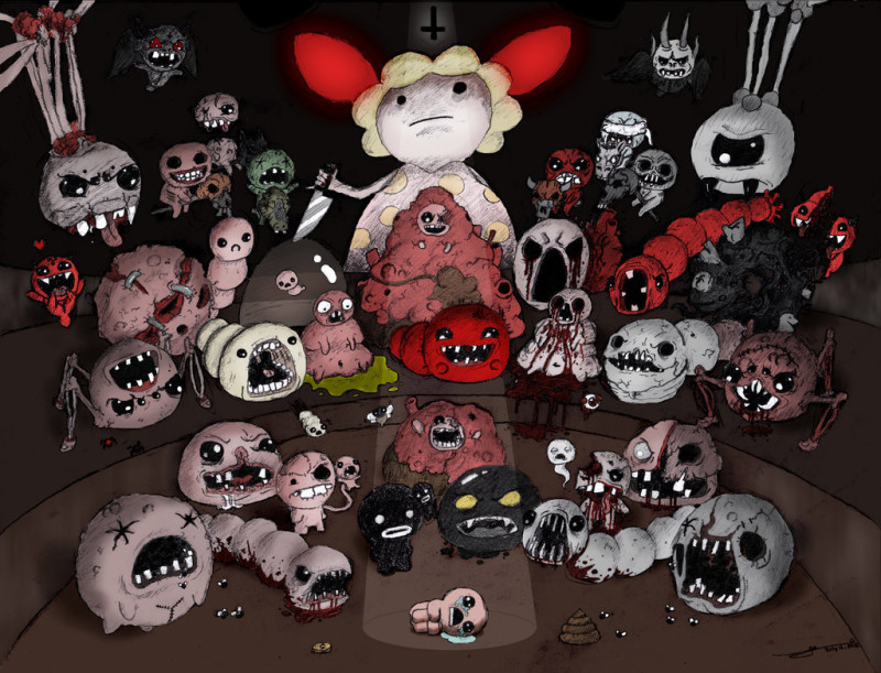 the_binding_of_isaac___all_bosses___colored__by_jaego17-d57dhf9 (1)