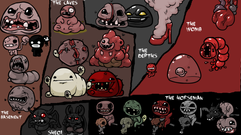thebindingofisaac_bosses_wallpaper_by_atrickycarnie-d4mhxfr