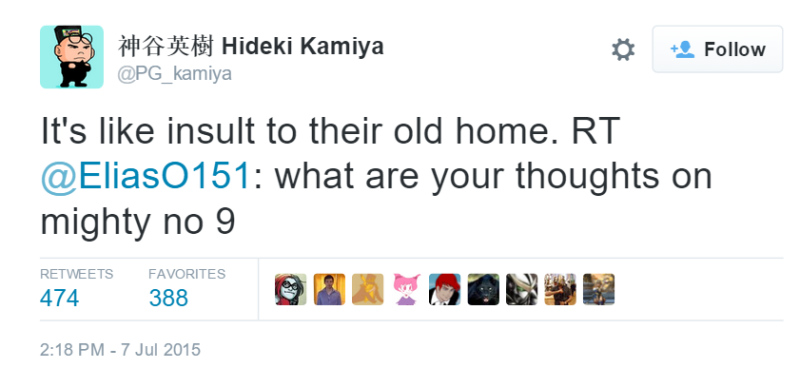 Kamiya sobre Mighty No.9