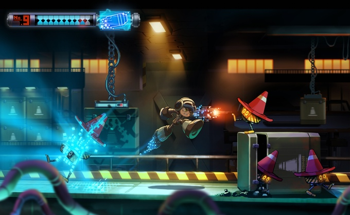 Concept art - Mighty No.9 Kickstarter