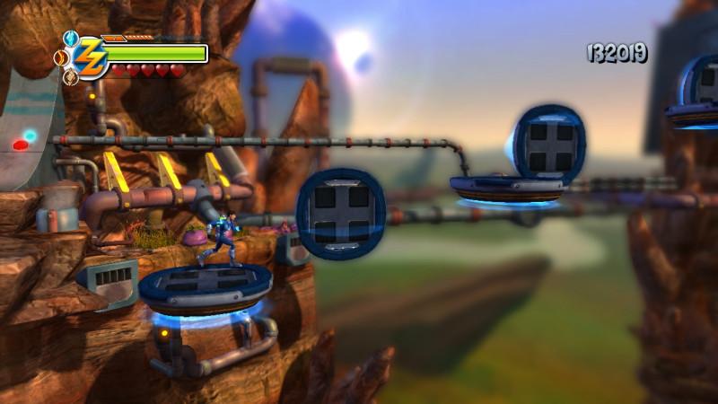 Zack Zero - Zona de plataformas
