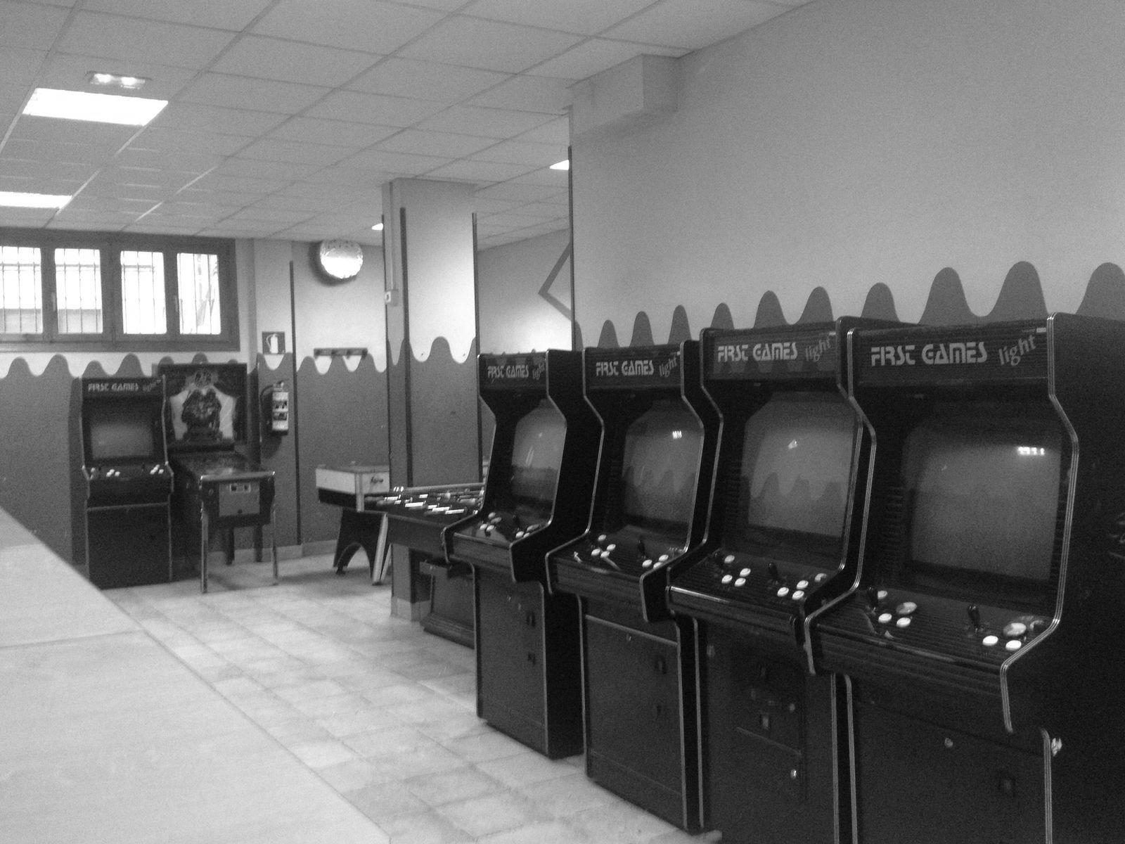 Los últimos salones recreativos
